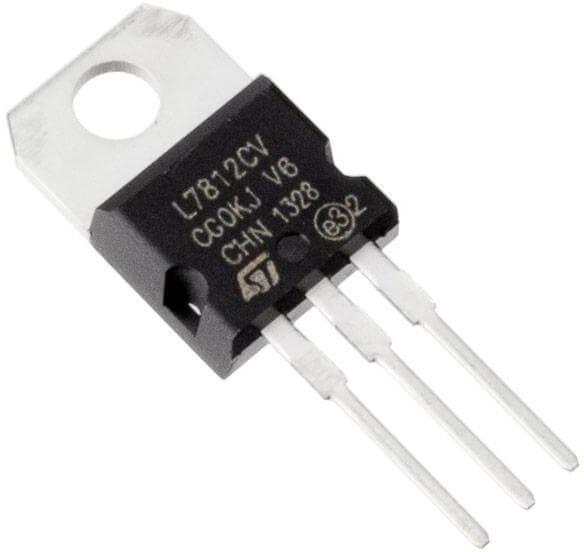 7812 Positive Voltage Regulator (12V -1A)