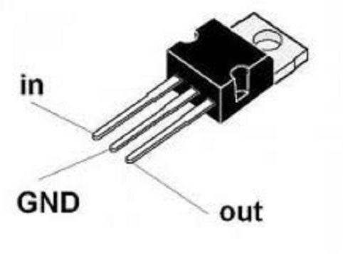 7805 Positive Voltage Regulator (5V -1A)