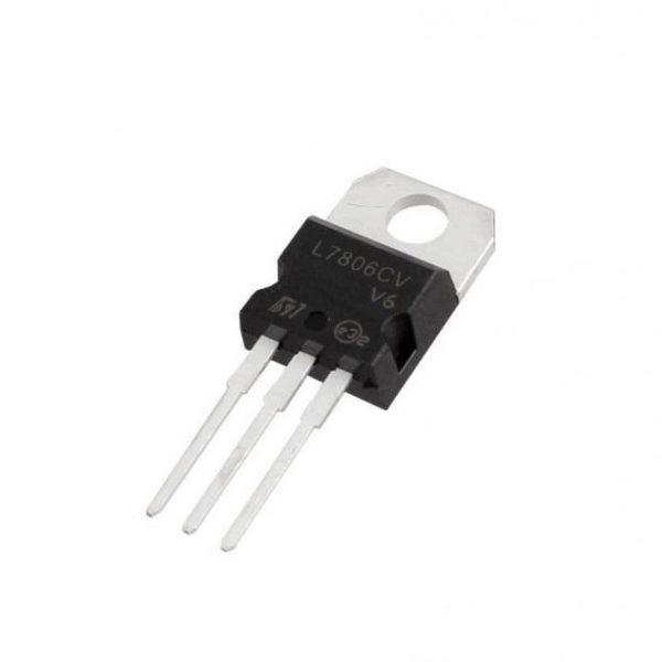 7806 Positive Voltage Regulator (6V -1A)
