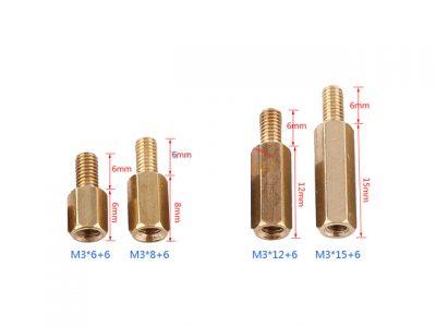 Copper Spacer 45MM M/F