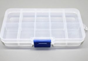 Storage Box Plastic 10 Components