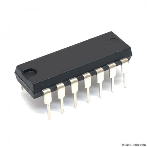 4052 Dual 4-Channel Analog Multiplexer/Demultiplexer