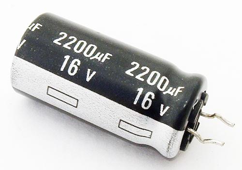 Capacitor 2200UF , 16v