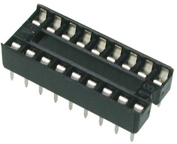 IC Base 8+8 ( 16 Pin )