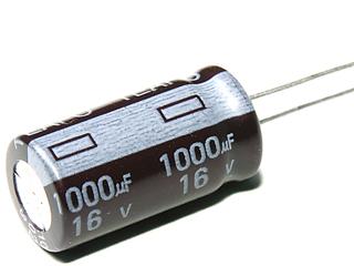 Capacitor 1000UF , 16v