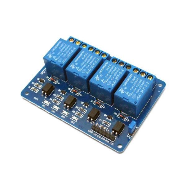 Relay Module 5V Dc – 4 Relay