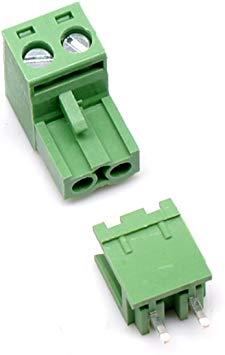 2 Pin PCB Screw Terminals Block Male – Female