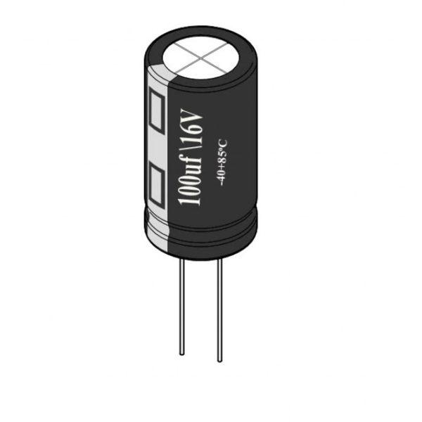 Capacitor 100UF , 16v