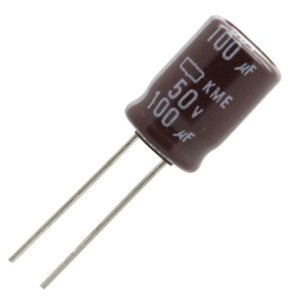Capacitor 100UF , 35v