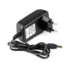 This is industry quality DC power adapter with 12V, 1A output. It has barrel jack connector. This adapter works well with many 12V applications.