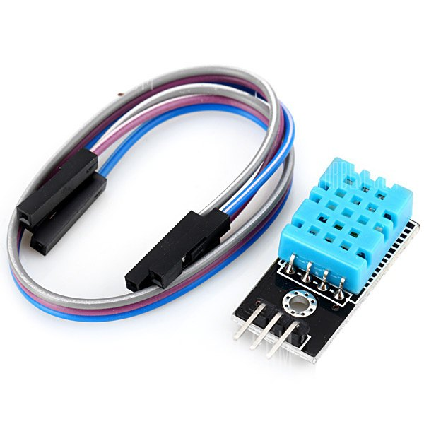 DHT11 digital temperature and humidity sensor is a calibrated digital signal output temperature and humidity combined sensor, which Application-specific modules capture technology and digital temperature and humidity sensor technology to ensure that products with high reliability and excellent Long-term stability.