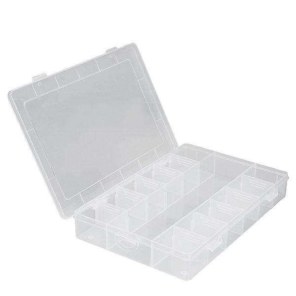 Storage Box Plastic 18 Components
