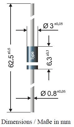 Diode 2A RL207