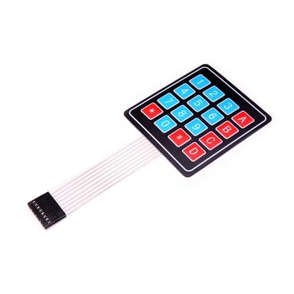 4 x 4 Matrix Keypad Membrane (16 Keys)