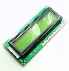 16X2 1602A LCD Display Green