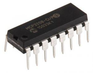 MCP3208 (12-Bit Analog To Digital Converters )