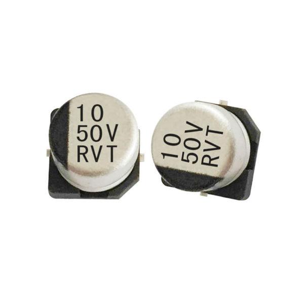 SMD (10UF-50V) Aluminum Electrolytic Capacitor