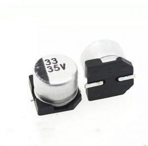 SMD (33UF-50V) Aluminum Electrolytic Capacitor