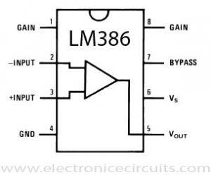 "LM386N-1 ""Low Voltage Audio Power Amplifier"""