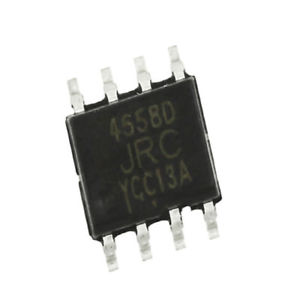 """4558 """"SMD"""" (Dual Operational Amplifier)"""