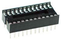 IC socket 12+12 (24pin)