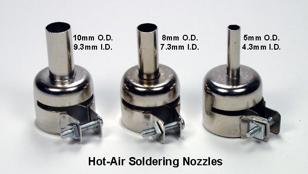 Hot Air Soldering Nozzles