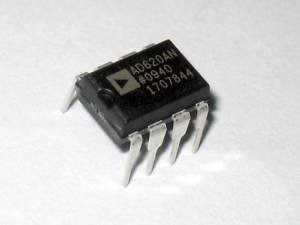 AD620 (Low Power Instrumentation Amplifier)