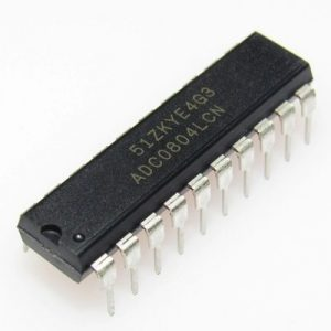 ADC0804 (8-Bit Analog To Digital Converters )