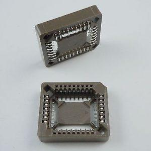 PLCC32 SMD IC Socket adapter , 32 Pin PLCC Converter PLCC-32