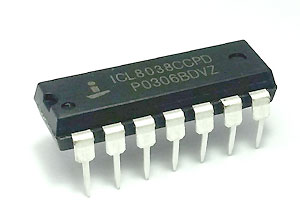 ICL8038 (Precision Waveform Generator/Voltage Controlled Oscillator)
