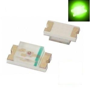 SMD 0805 LED Green ( 10pcs )