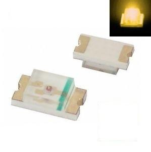 SMD 0805 LED Yellow ( 10pcs )