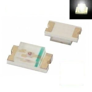 SMD 0805 LED White ( 10pcs )