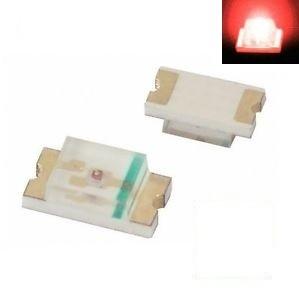 SMD 0805 LED RED ( 10pcs )