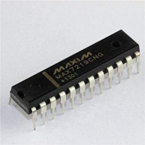 MAX7219 ( 8-Digit LED Display Drivers)