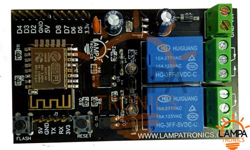 ESP8266 10A 220V Relay WIFI Module 2ch Smart Board