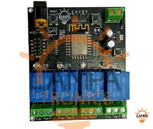 ESP8266 10A 220V Relay WIFI Module 4ch Smart Board