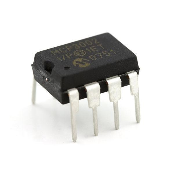 MCP3202 (10-Bit Analog To Digital Converters )