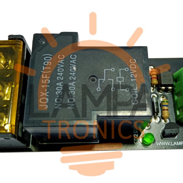 Relay Module (12V–30A) – 1 Relay For Arduino