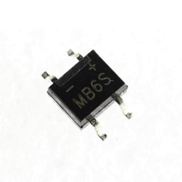 Bridge Rectifier MB6S (600V/0.5A)