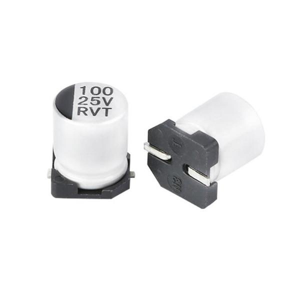 SMD (100UF-25V) Aluminum Electrolytic Capacitor