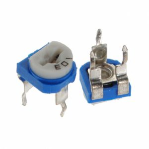 Top Adjust 5K ohm Carbon Trimmer Potentiometer