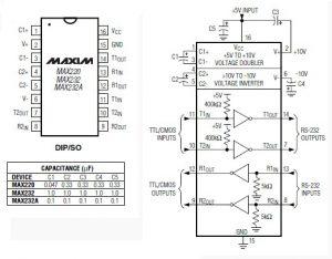 MAX232CPE MAX232 DIP-16 IC