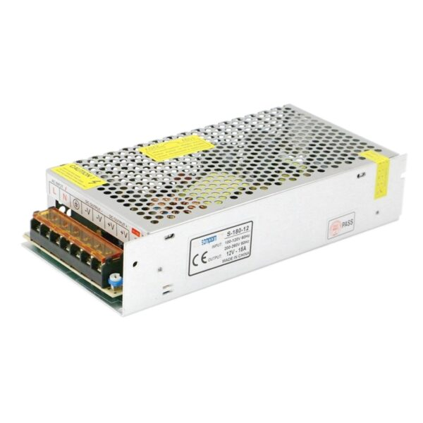 Power Supply SMPS S-180-12 (12V,15A)