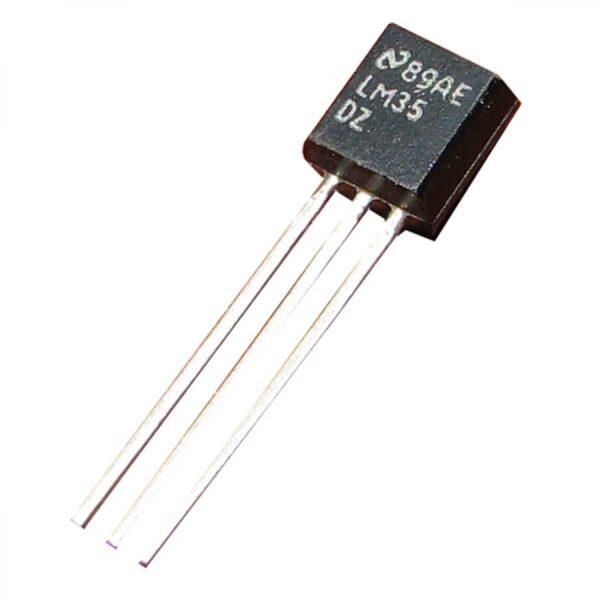 LM35DZ (Temperature Sensors)