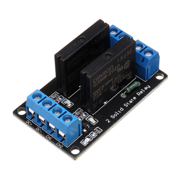 Solid State Relay Module 2 Channel (5Vdc)