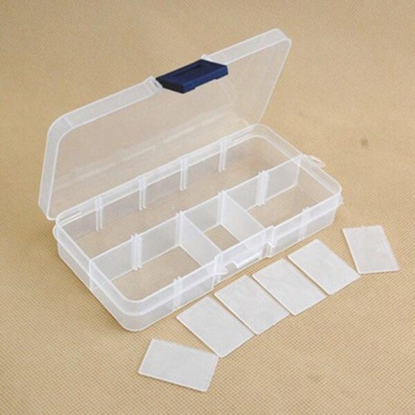 Compartments storage plastic