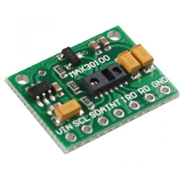 Pulse Oximeter and Heart Rate Sensor (MAX30100)